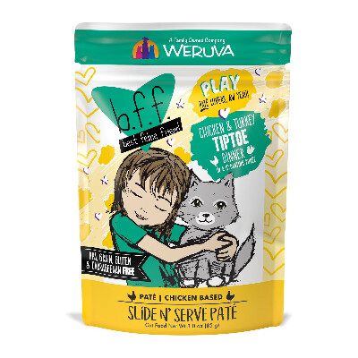 buy Weruva-BFF-Play-Pate-Chicken-And-Turkey-Tiptoe-Cat-Food