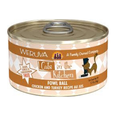 buy Weruva-Cats-In-The-Kitchen-Chicken-And-Turkey-Canned-Cat-Food