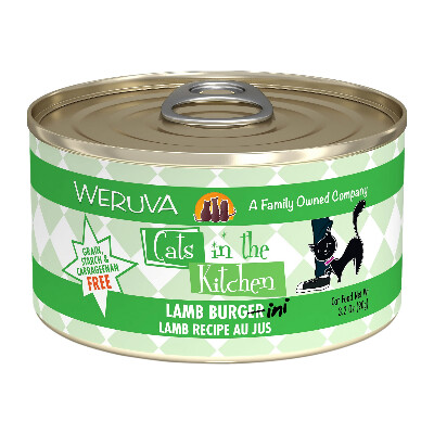 buy Weruva-Cats-In-The-Kitchen-Lamb-Burgini-Canned-Cat-Food