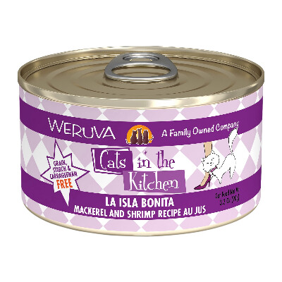 buy Weruva-Cats-In-The-Kitchen-Mackerel-Shrimp-Canned-Cat-Food