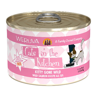 buy Weruva-Cats-In-The-Kitchen-Wild-Salmon-Au-Jus-Canned-Cat-Food