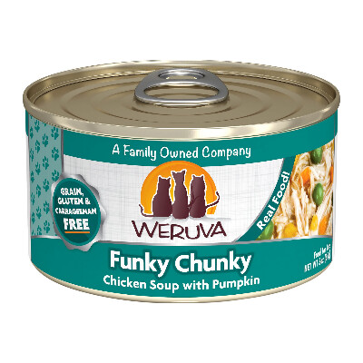 buy Weruva-Cats-in-the-Kitchen-Funky-Chunky-Chicken-Soup-Canned-Cat-Food