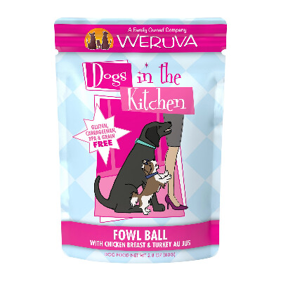 buy Weruva-Dogs-in-the-Kitchen-Fowl-Ball-Dog-Food