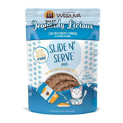 buy Weruva-Jeopurrdy-Licious-Chicken-Dinner-Pat-Grain-Free-Cat-Food