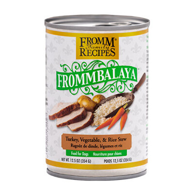 buy Frommbalaya-Turkey-Rice-Vegetable-Stew-Canned-Dog-Food