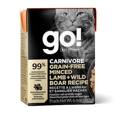 buy GO-Carnivore-Minced-Lamb-And-Wild-Boar-For-Cats