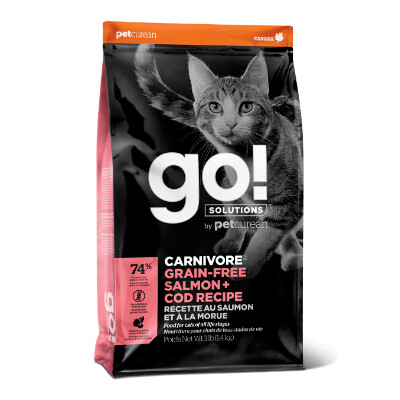 buy GO-Carnivore-Salmon-And-Cod-Cat-Food