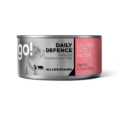 buy GO-Daily-Defence-Salmon-Pate-Canned-Cat-Food