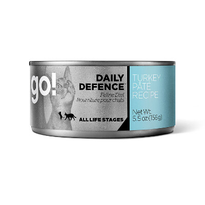 buy GO-Daily-Defence-Turkey-Pt-Canned-Cat-Food