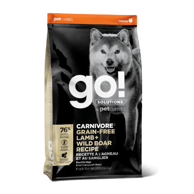 buy GO-Solutions-Carnivore-Lamb-And-Wild-Boar-Dog-Food