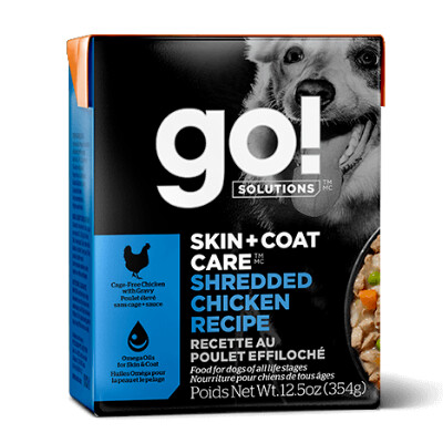 buy GO-Solutions-Skin-And-Coat-Shredded-Chicken-For-Dogs