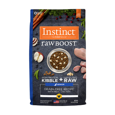 buy Natures-Variety-Instinct-Raw-Boost-Chicken-Senior-Dog-Food