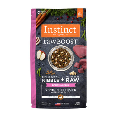 buy Natures-Variety-Instinct-Raw-Boost-Duck-Small-Breed-Dog-Food