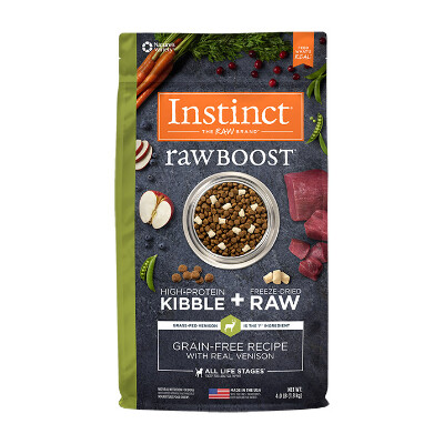 buy Natures-Variety-Instinct-Raw-Boost-Venison-Dog-Food