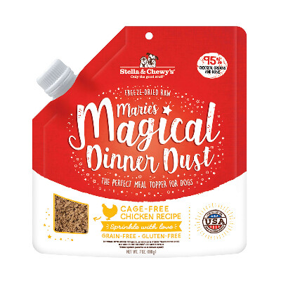 buy Stella-And-Chewys-Maries-Magical-Chicken-Dust-Topper-For-Dogs