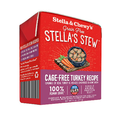 buy Stella-And-Chewys-Turkey-Medley-Stew-For-Dogs