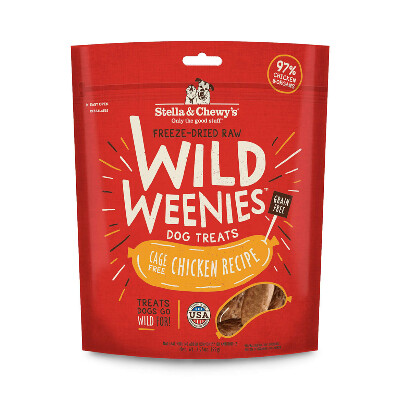 buy Stella-and-Chewys-Cage-Free-Chicken-Wild-Weenies-Dog-Treats