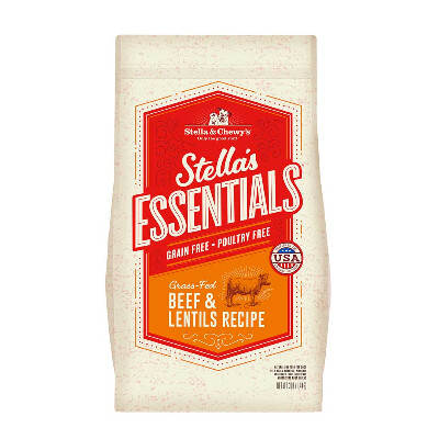 buy Stella-and-Chewys-Essentials-Beef-And-Lentils-Dog-Food