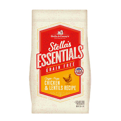 buy Stella-and-Chewys-Essentials-Chicken-And-Lentils-Dog-Food