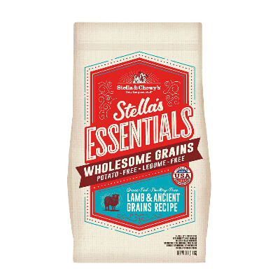 buy Stella-and-Chewys-Essentials-Lamb-And-Ancient-Grains-Dog-Food