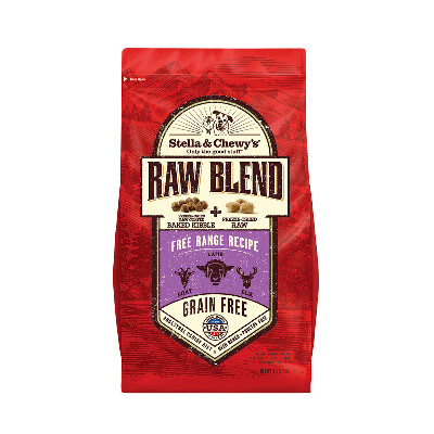buy Stella-and-Chewys-Free-Range-Raw-Blend-Kibble-Dog-Food