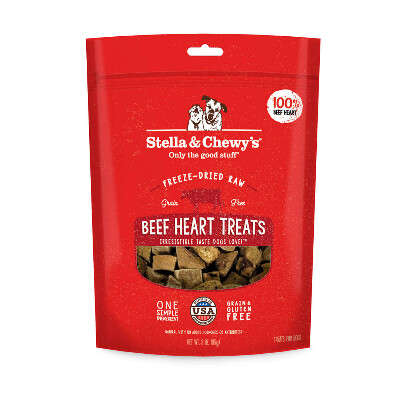 buy Stella-and-Chewys-Freeze-Dried-Beef-Heart-Dog-Treats