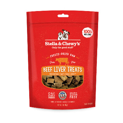 buy Stella-and-Chewys-Freeze-Dried-Beef-Liver-Dog-Treats