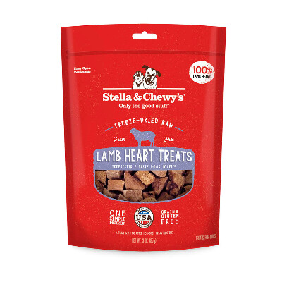 buy Stella-and-Chewys-Freeze-Dried-Lamb-Heart-Dog-Treats