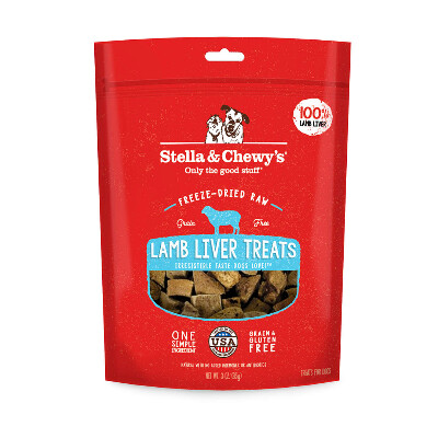 buy Stella-and-Chewys-Freeze-Dried-Lamb-Liver-Dog-Treats