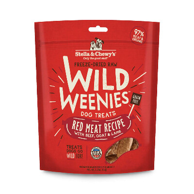 buy Stella-and-Chewys-Freeze-Dried-Red-Meat-Wild-Weenies-Dog-Treats