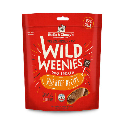buy Stella-and-Chewys-Grass-Fed-Beef-Wild-Weenies-Dog-Treats