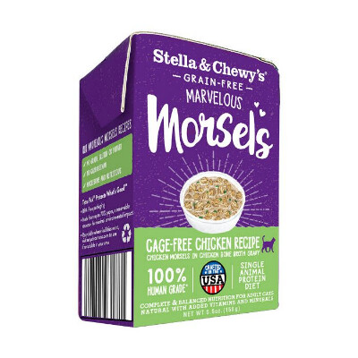 buy Stella-and-Chewys-Marvelous-Morsels-Cage-Free-Chicken-Cat-Food
