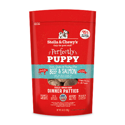 buy Stella-and-Chewys-Puppy-Beef-And-Salmon-Freeze-Dried-Raw-Dog-Food