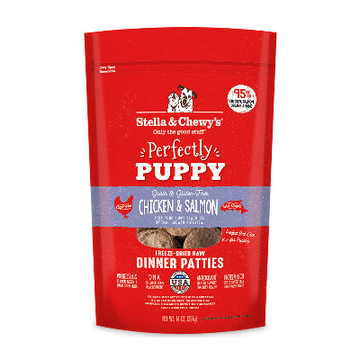 buy Stella-and-Chewys-Puppy-Chicken-And-Salmon-Freeze-Dried-Raw-Dog-Food