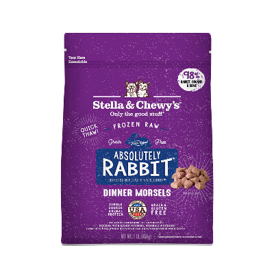 buy Stella-and-Chewys-Rabbit-Freeze-Dried-Cat-Food