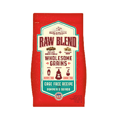 buy Stella-and-Chewys-Raw-Blend-Wholesome-Grain-Cage-Free-Dog-Food