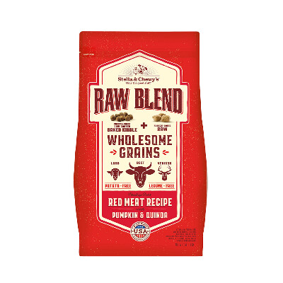 buy Stella-and-Chewys-Raw-Blend-Wholesome-Grain-Red-Meat-Dog-Food