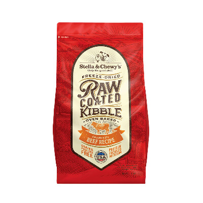 buy Stella-and-Chewys-Raw-Coated-Beef-Kibble-Dog-Food