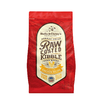 buy Stella-and-Chewys-Raw-Coated-Chicken-Kibble-Dog-Food