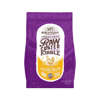 buy Stella-and-Chewys-Raw-Coated-Kibble-Chicken-Cat-Food