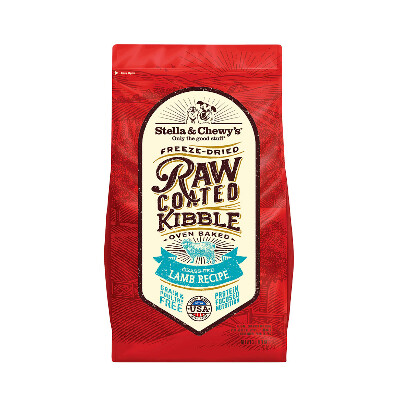 buy Stella-and-Chewys-Raw-Coated-Lamb-Kibble-Dog-Food