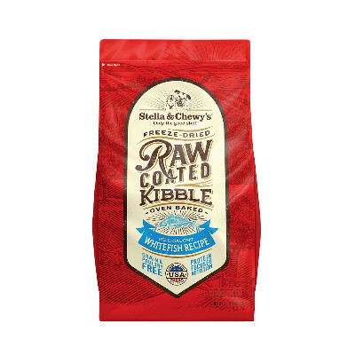 buy Stella-and-Chewys-Raw-Coated-Whitefish-Kibble-Dog-Food