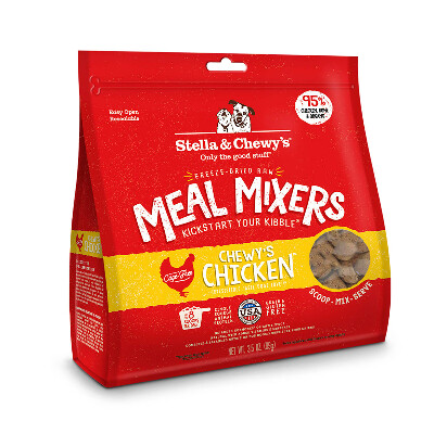 buy Stella-and-Chewys-Raw-Freeze-Dried-Chicken-Meal-Mixers-Dog-Food