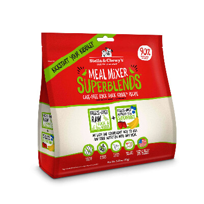 buy Stella-and-Chewys-Raw-Freeze-Dried-Duck-Duck-Goose-SuperBlends-Dog-Food