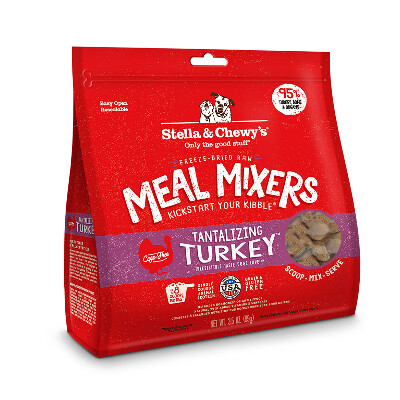 buy Stella-and-Chewys-Raw-Freeze-Dried-Tantalizing-Turkey-Meal-Mixers-Dog-Food