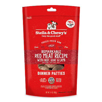 buy Stella-and-Chewys-Red-Meat-Freeze-Dried-Raw-Dog-Food