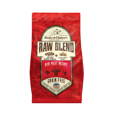 buy Stella-and-Chewys-Red-Meat-Raw-Blend-Kibble-For-Dogs