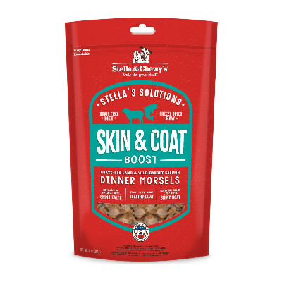 buy Stella-and-Chewys-Skin-And-Coat-Boost-Freeze-Dried-Raw-Dog-Food