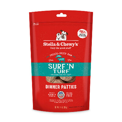 buy Stella-and-Chewys-Surf-N-Turf-Freeze-Dried-Raw-Dog-Food.