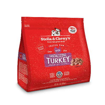 buy Stella-and-Chewys-Tantalizing-Turkey-Freeze-Dried-Dog-Food